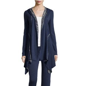 Terry-Lined Hooded Cardigan Max Studio Weekend XL